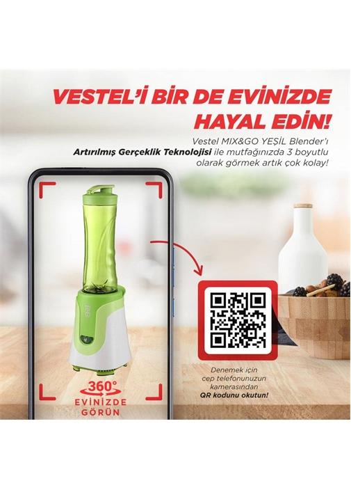 Vestel Mix&Go Yeşil Blender