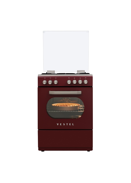 Vestel SF 8400 Retro Bordo Solo Fırın