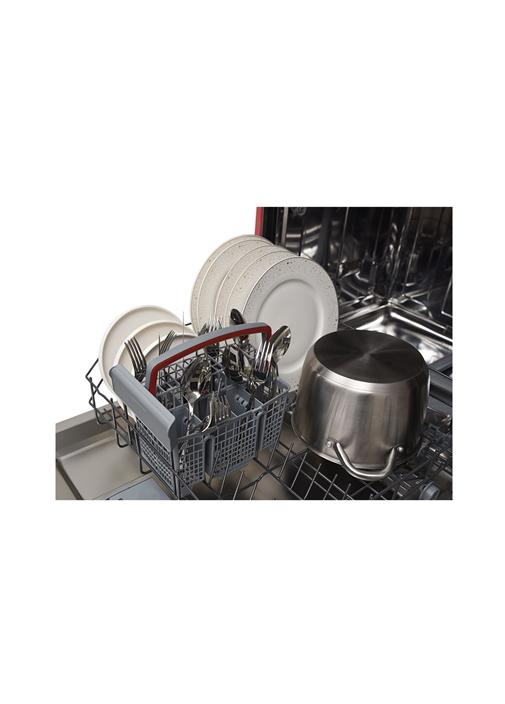 Vestel BM 5001 Retro Kırmızı 5 Programlı Bulaşık Makinesi