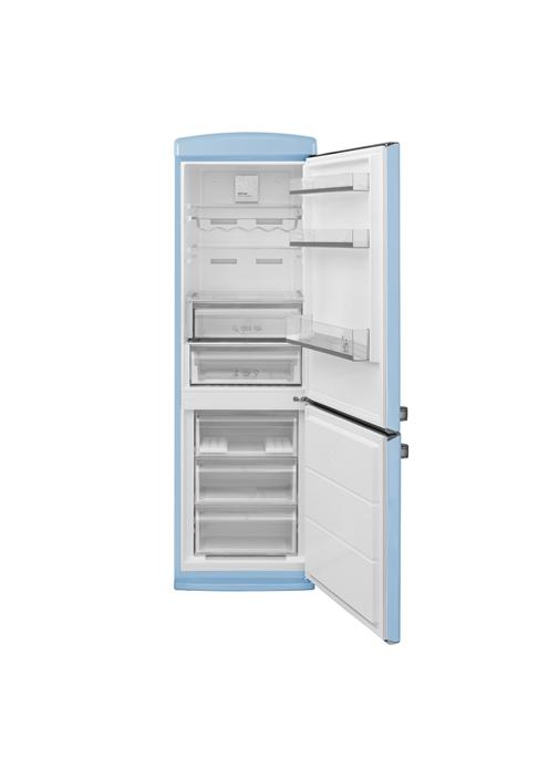 Vestel Retro NFK37001 Düş Mavisi No-Frost Buzdolabı