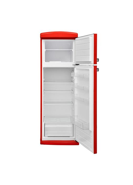 Vestel Retro SC32001 Kırmızı Statik Buzdolabı