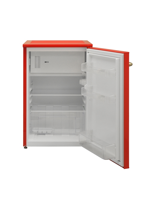 Vestel Retro SB14101 Kırmızı Mini Buzdolabı