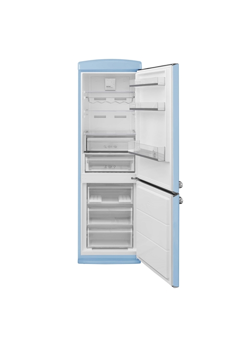 Vestel RETRO NFK37101 DÜŞ MAVİSİ No-Frost Buzdolabı