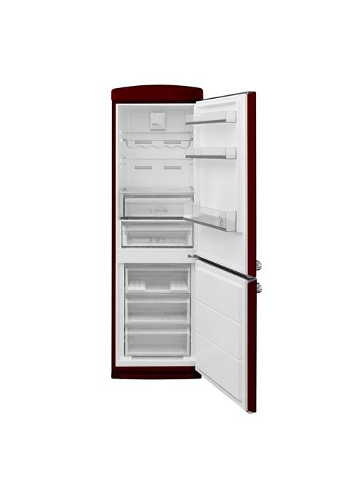 Vestel RETRO NFK37101 BORDO No-Frost Buzdolabı