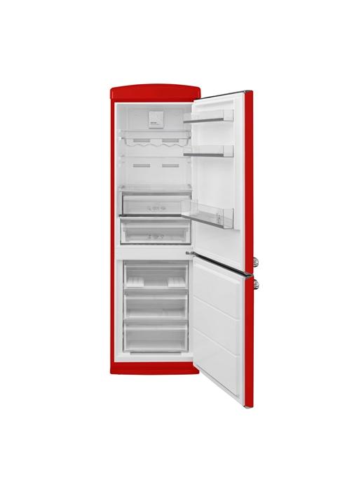 Vestel RETRO NFK37101 KIRMIZI No-Frost Buzdolabı