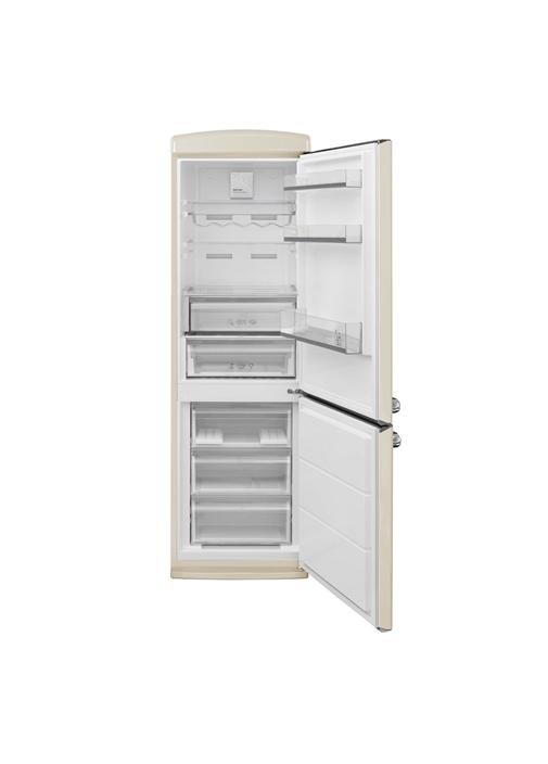 Vestel RETRO NFK37101 BEJ No-Frost Buzdolabı