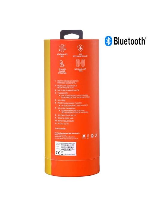 Vestel Desibel H500 Bluetooth Hoparlör Kırmızı