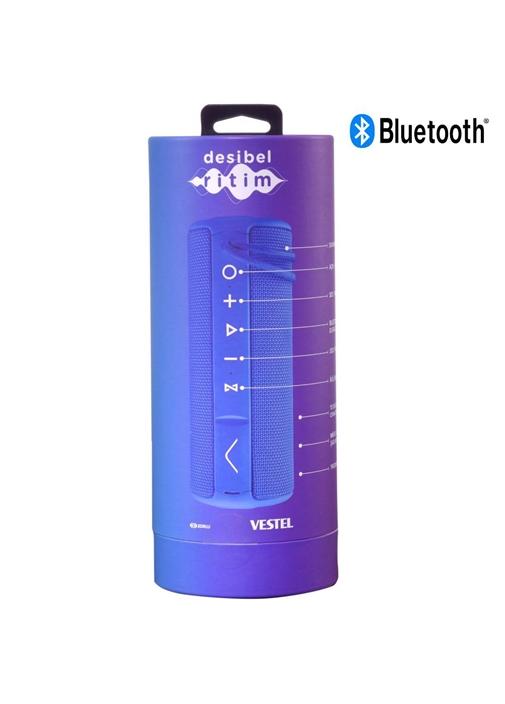 Vestel Desibel H500 Bluetooth Hoparlör Mavi