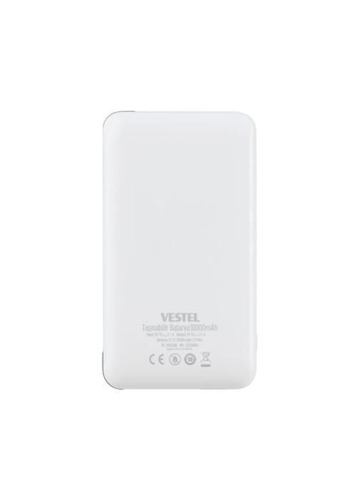 Vestel Taşınabilir Batarya 10000 mAh Beyaz